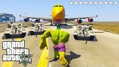 GTA 5 als unglaublichen HULK spielen!