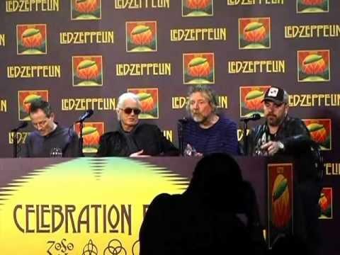 Led Zeppelin Celebration Day Press Conference