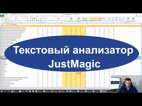 Текстовый анализатор JustMagic