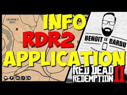 L'APPLICATION IOS ANDROID DE RED DEAD REDEMPTION 2