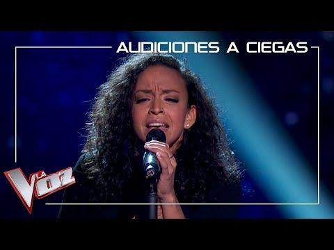 Andrea del Solar canta 'I will always love you' | Audiciones a ciegas | La Voz Antena 3 2019