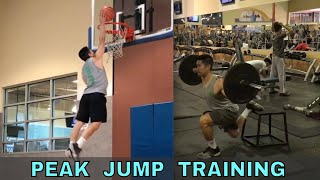 Peaking My Jump Training Cycle (10/12/18 Vertical Jump Workout)