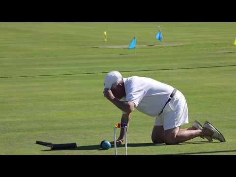 Croquet:US Rules-2017 Seniors/Masters Doubles Final:Jackson/Just v Gibbons/McCoy