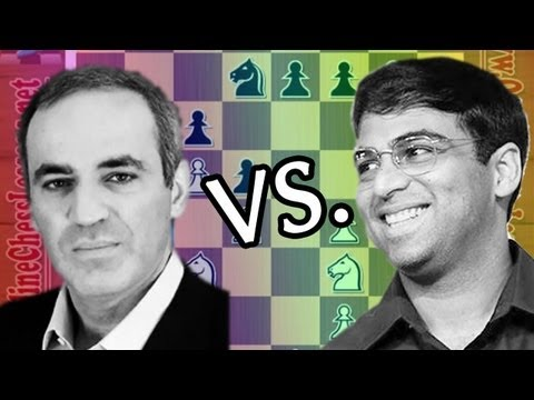 Kasparov CRUSHES 😲 Anand with the Sicilian Najdorf (Anand vs