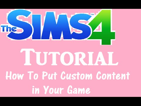 how to get custom content on the sims 4