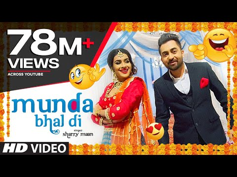 "Thumbnail: ""Sharry Mann"" Munda Bhal di (Official Song) Latest Punjabi Songs 
