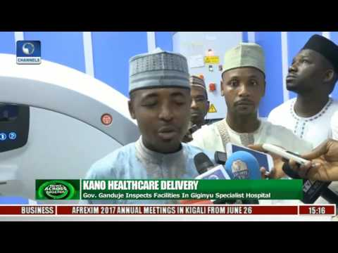Kano State Govt. Furnishes Specialist Hospital With Equipment