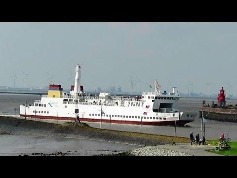 greentech LNG gas engine OSTFRIESLAND DCQN IMO 8324622 AG Ems RoRo Fähre Island Ferry inbound Emden