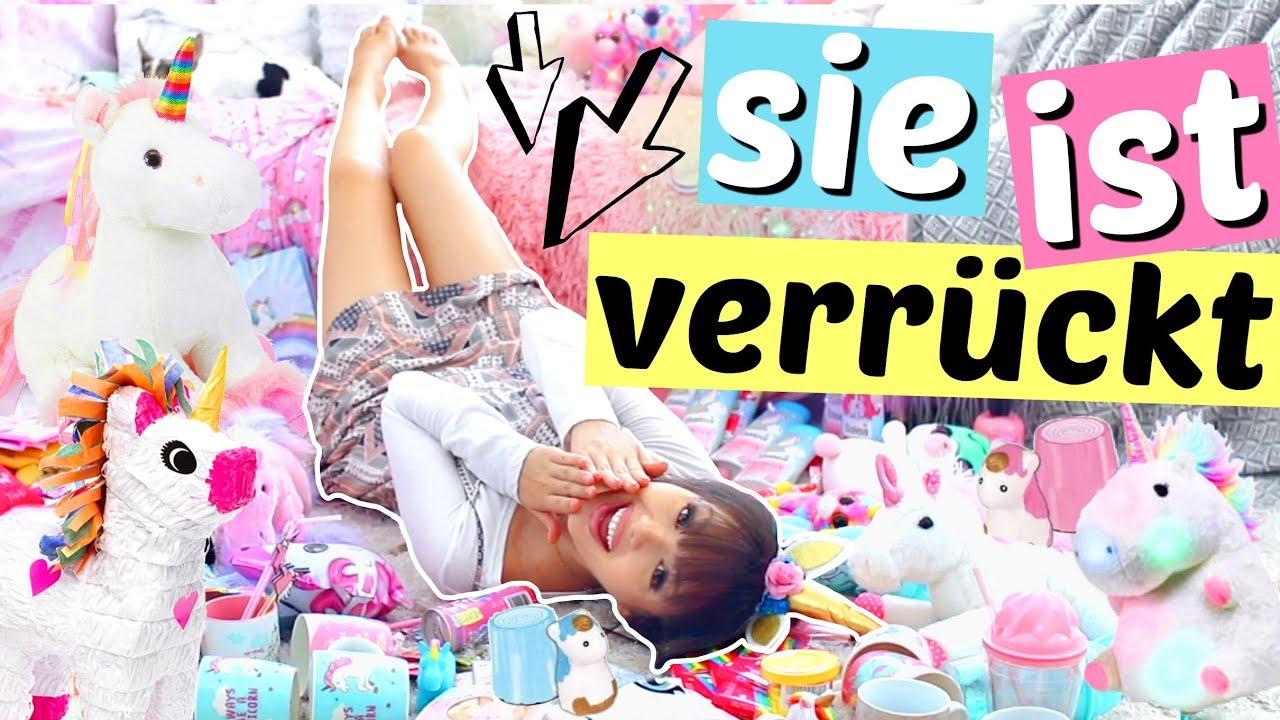 100 EINHORN SACHEN 🦄 | ViktoriaSarina - YouTube