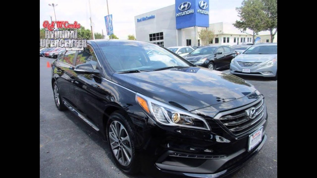 2016 Hyundai Sonata Phantom Black