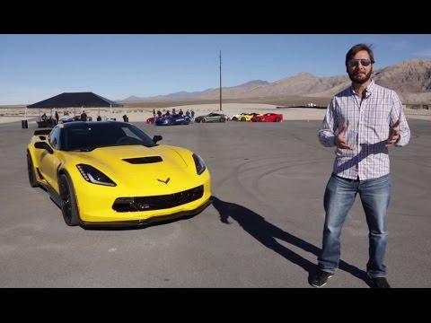 Prueba Chevrolet Corvette Z06 2015 (Español)