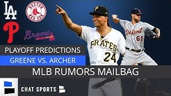 MLB Playoff Predictions, Red Sox & LA Dodgers Breakdown + Astros World Series Chances | Mailbag