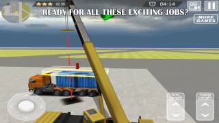 Cargo Ship Manual Crane 17 - Gameplay video