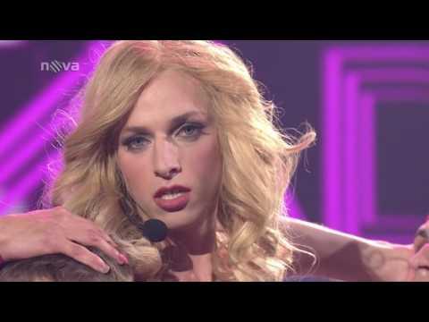Jan Cina jako Madonna   Hung Up:  Tvoje tvář má známí hlas