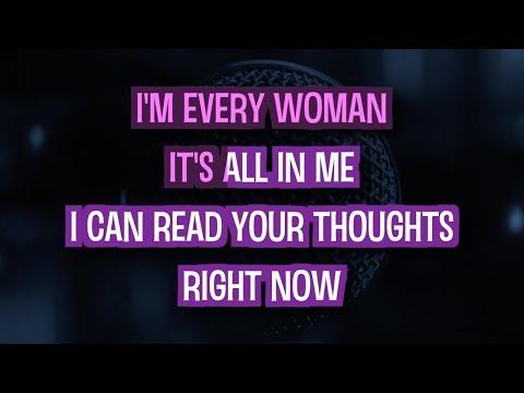 I'm Every Woman - Whitney Houston   Karaoke Version