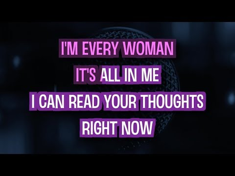 I'm Every Woman (Karaoke Version) - Whitney Houston   TracksPlanet