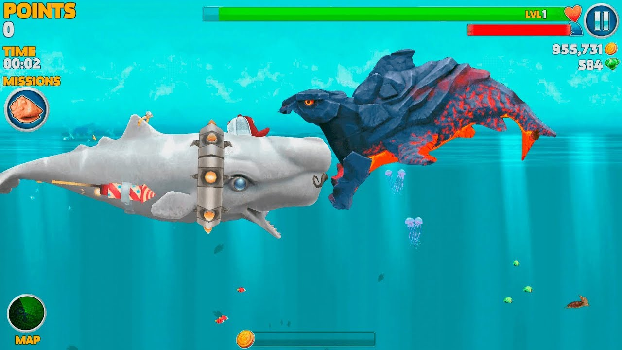 Взлом Игры Hungry Shark Evolution Android - …