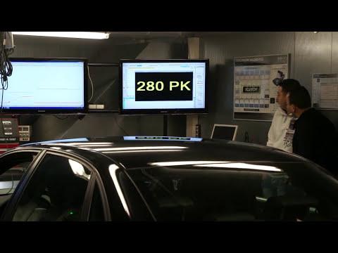 Audi A4 DTM quattro dyno