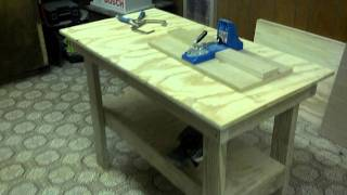 Woodworking Shop Cabinet Building