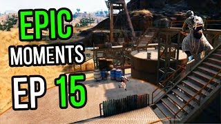 PUBG: Epic & Lucky Moments Ep. 15
