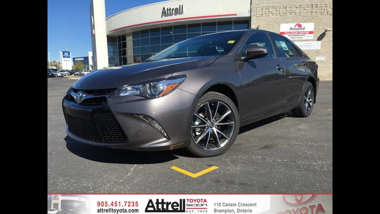 2017 toyota camry xse premium package brampton on. Black Bedroom Furniture Sets. Home Design Ideas