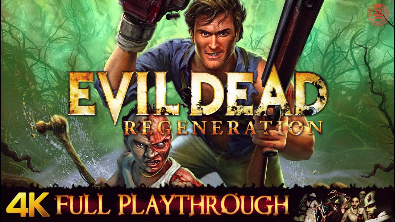 Evil Dead : Regeneration | 4K | Full Game Longplay Walkthrough No Commentary