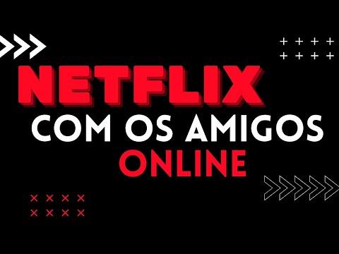 TUTORIAL NETFLIX PARTY - TELEPARTY - COMO ASSISTIR FILMES E SÉRIES COM SEUS AMIGOS TUDO ONLINE