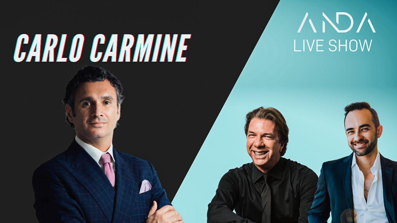 ANDA Live Show con ospite: Carlo Carmine