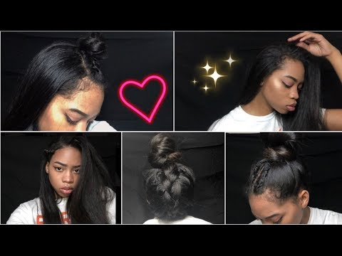 CUTEST HAIRSTYLES FOR STRAIGHT NATURAL HAIR | Sidne Power