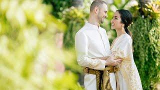 Wedding Engagement Tuck and Rafa at Anantara Bangkok Riverside Resort and Spa Thailand