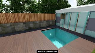 08 Small Garden Pool with Rolling Deck