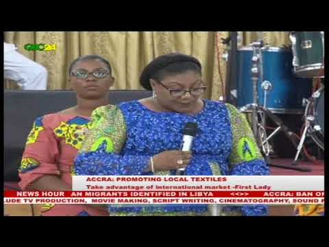 First Lady calls for protection for local Textile  industry