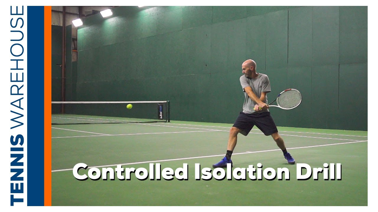 Improve your Groundstrokes & Movement with our Weekly Tennis Drill: Controlled Isolations
