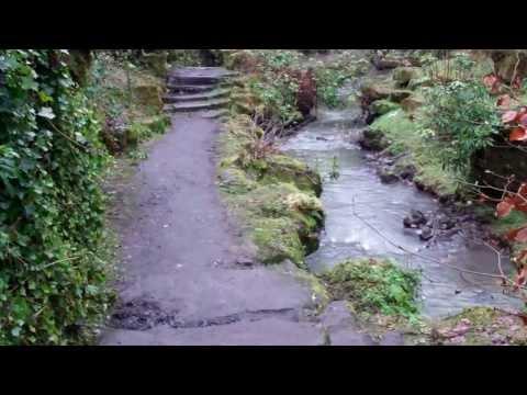 Walk Pittencrieff Glen Dunfermline Fife Scotland
