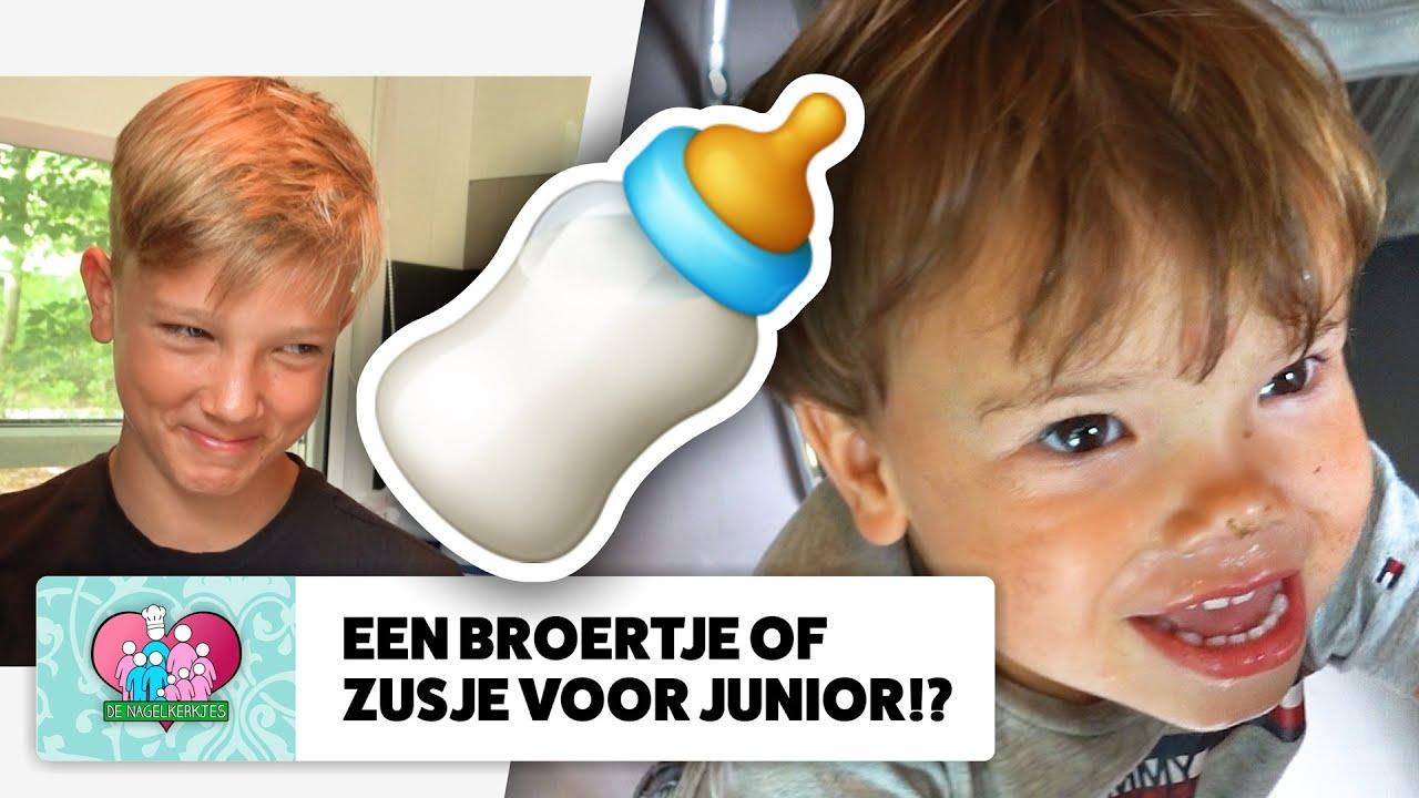 GEZINSUITBREIDING: wil Junior een BROERTJE OF ZUSJE!? 👶 - #651