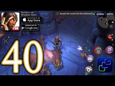 Dungeon Hunter 5 Android IOS Walkthrough - Part 40 - Solo Bounty 43-44 (EASY)