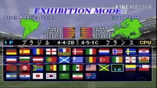Emulador de Playstation1 (ePSXe ) - Winning Eleven 3 #Nostalgia
