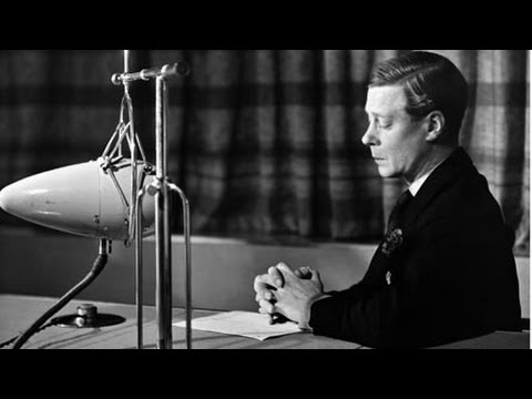 King Edward VIII's Abdication Speech