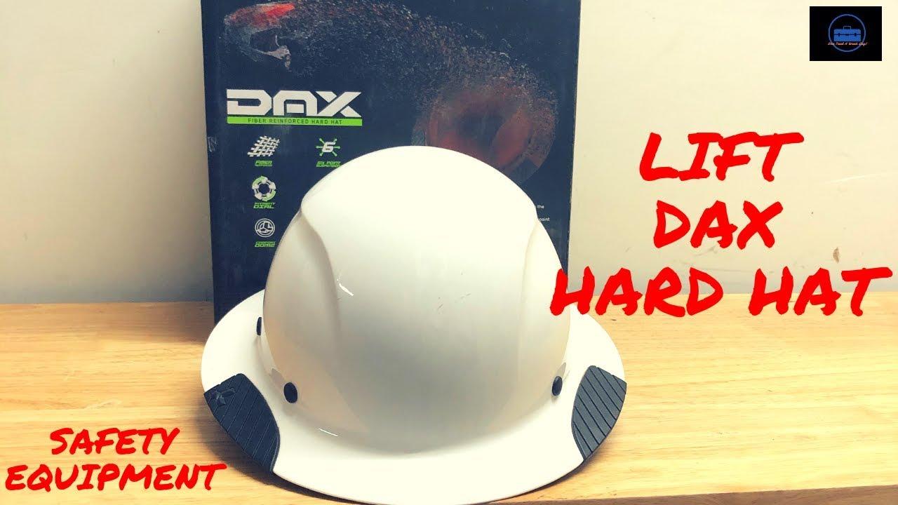 Safety Equipment (Hard Hat Lift DAX Fiber Reinforced Hard Hat Full Brim)