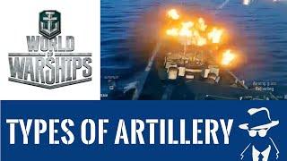 World of Warships Gameplay: Artillery Shells, HE vs AP