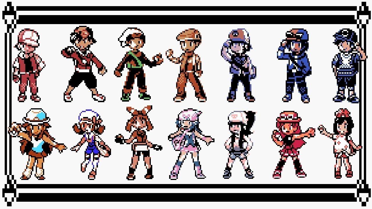 Pokémon Trainer Battle Medley 8 Bit Youtube
