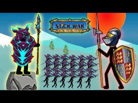 Stick War Legacy - New Skins Unlocked Spearton Part 58