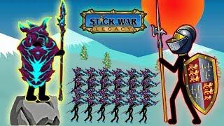 Stick War Legacy - New Skins Unlocked Spearton Part 58