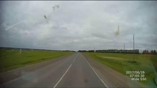 ДТП на трассе Тюмень - Курган, Ауди А6 и Рено Премиум