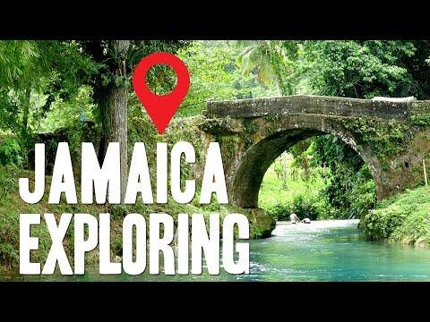 Jamaica Weekend exploring | Spanish Bridge, Island Gully Falls, Tryall Waterwheel, Bulls Bay