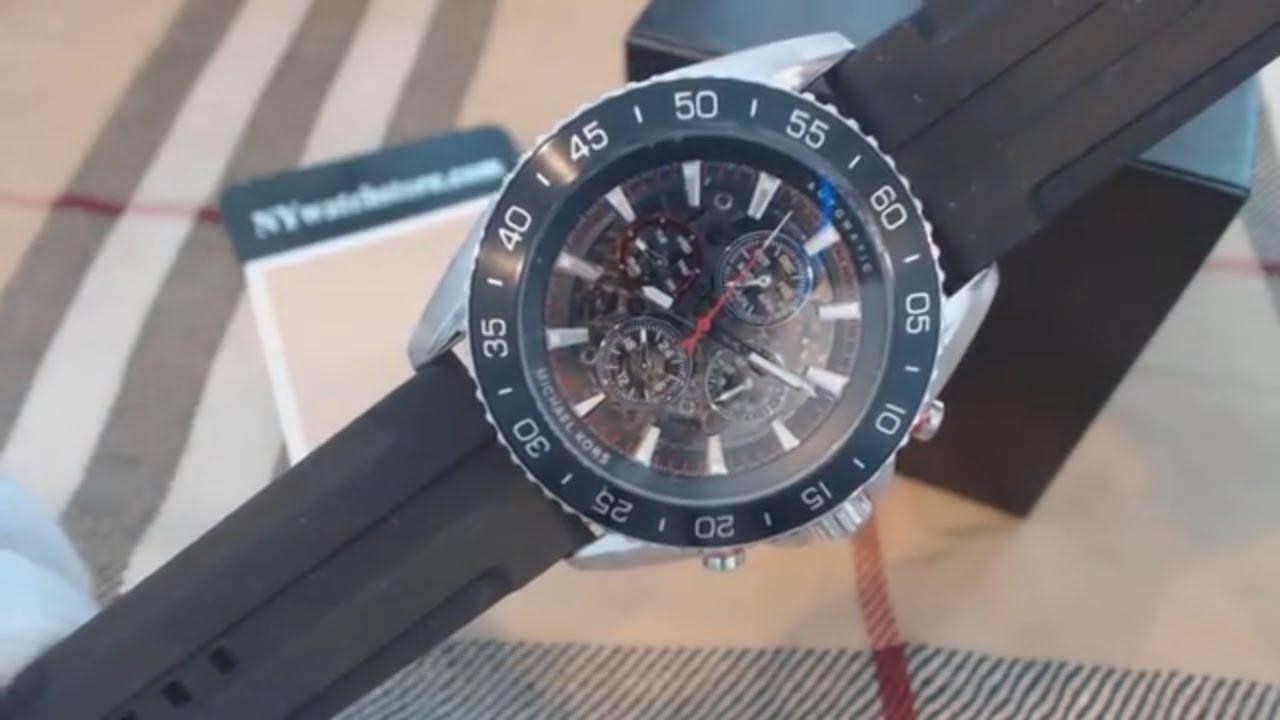 0e225344d5fb Men s Michael Kors Jetmaster Automatic Chronograph Watch MK9013 ...