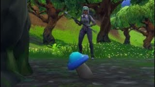 Fortnite - Consume 8 fruit, mushrooms, or glitched forages items in a single match