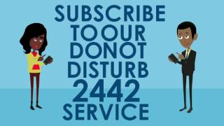 NCC's 2442 Do-Not-Disturb Service
