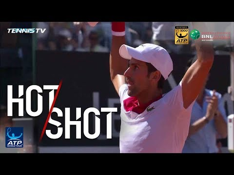 Hot Shot: Novak Outduels Rafa In Epic Rally In Rome 2018 Mp3