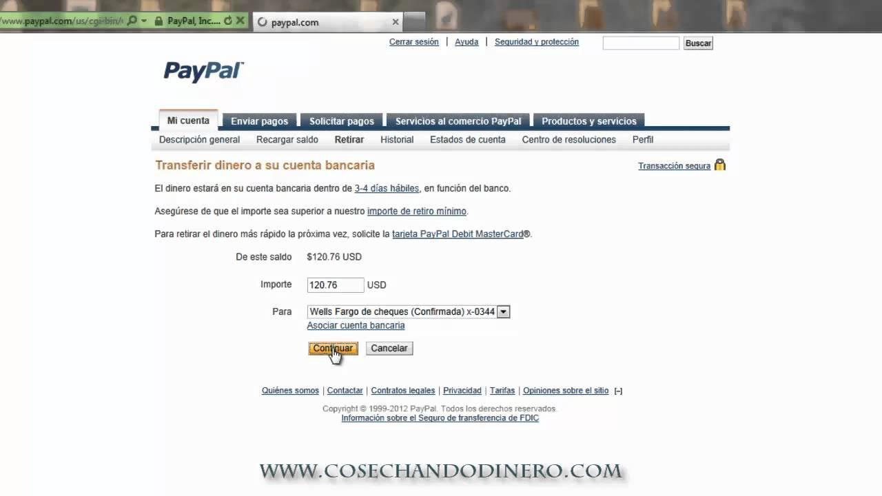 Crear Cuenta Paypal Con Cuenta Bancaria